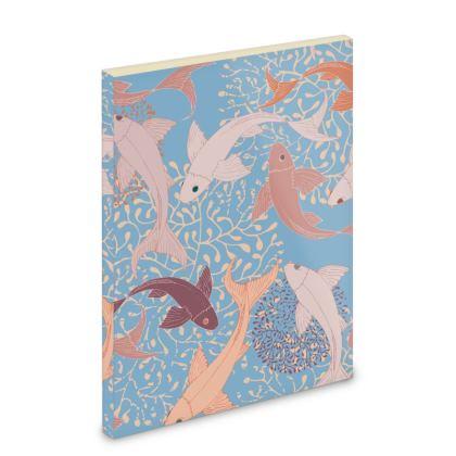Sea LifeCollection_Sea Ginger (Blue) - Pocket Note Book