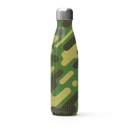 camo stainless steel thermal bottle