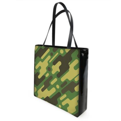 camo shopper bag