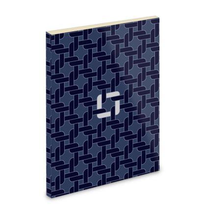 Linked Navy Pocket Notebook