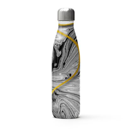 marble Stainless Steel Thermal Bottle