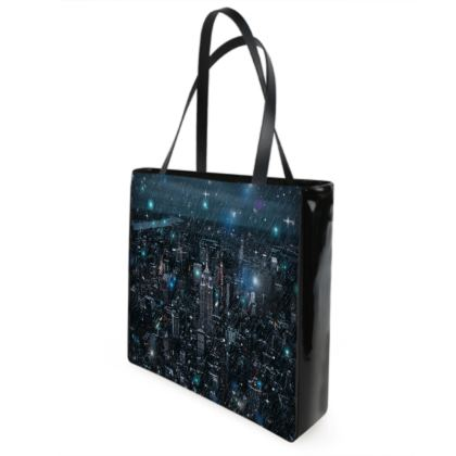 new york Shopper Bags