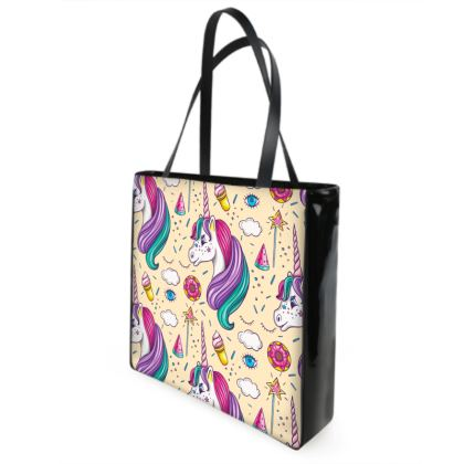 unicorns shopper bag