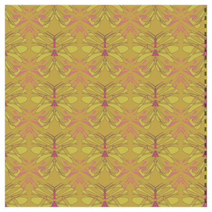 Butterfly Collection (Green Gold) - Luxury Wallpaper