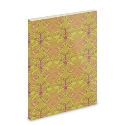 Butterfly Collection (Green Gold) - Pocket Note Book