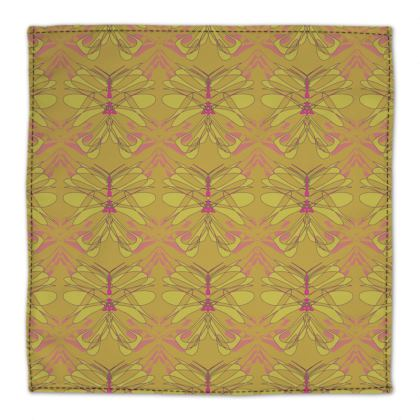 Butterfly Collection (Green Gold) - Luxury Napkin