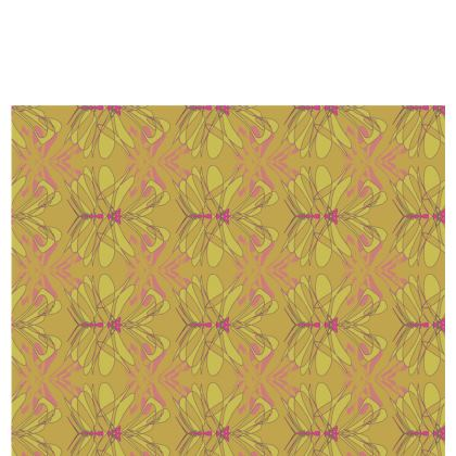 Butterfly Collection (Green Gold) - Luxury Table Runner