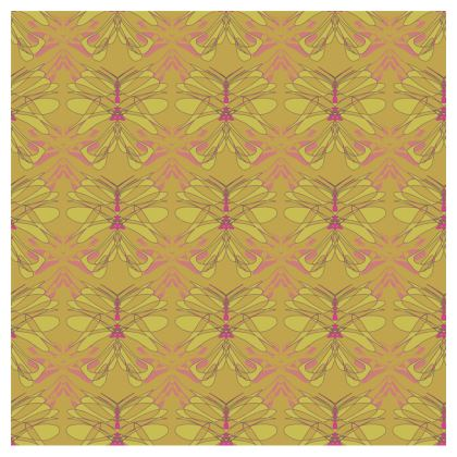 Butterfly Collection (Green Gold) - Luxury Cup and Saucer
