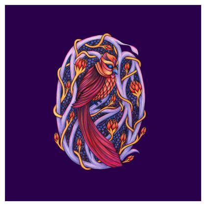 'Red Sky Omen' Furniture Cube