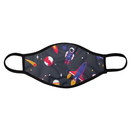 space collection iii four pack face masks