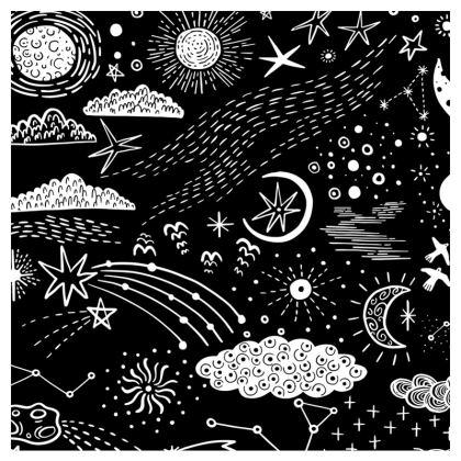 minimal black white modern face masks pack of four