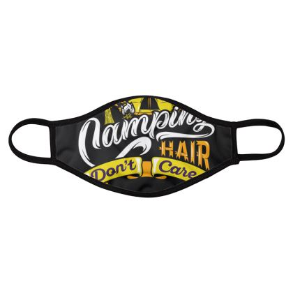 camping hair four pack face masks