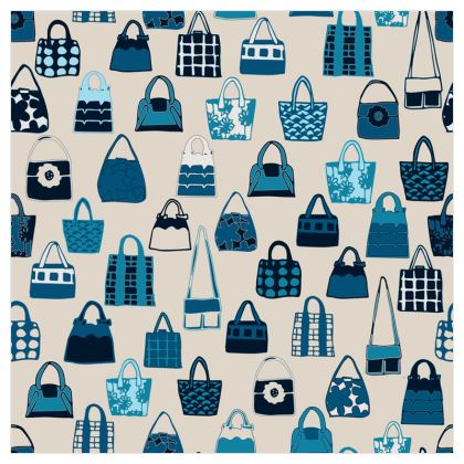 I love handbags Collection (Latte) - Luxury Wallpaper