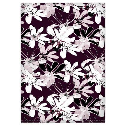 Magnolia Collection (Plum) - Duvet Set