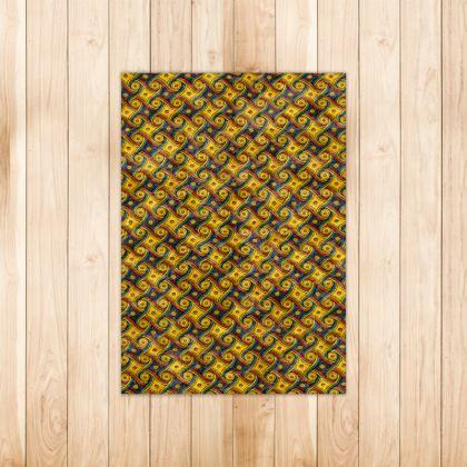 LAX Gally Retro Carpet Pattern Rug