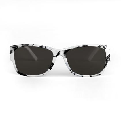 Frozen Feather Sunglasses