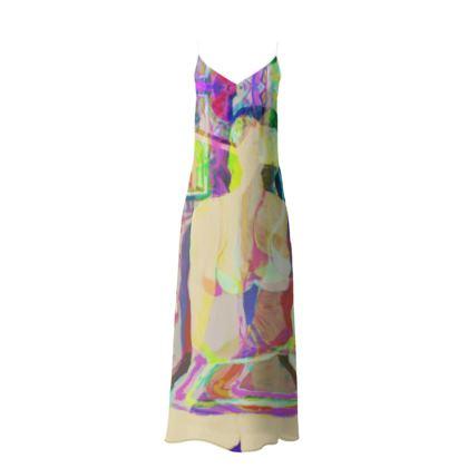 IBIZA LONG SLIP DRESS