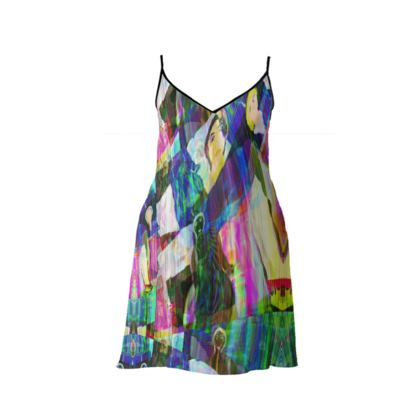 ESCALADE SHORT SLIP DRESS
