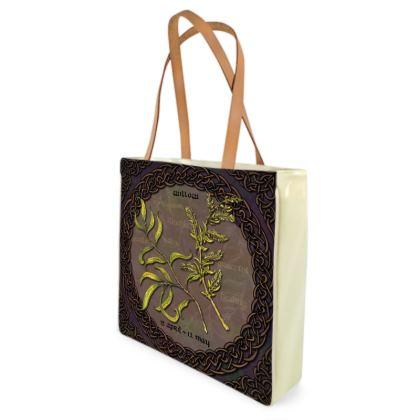 Tree Calendar Willow Shopper Bag