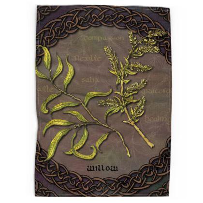 Celtic Willow Tea Towel
