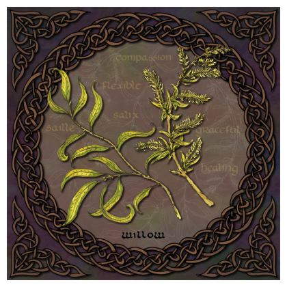 Celtic Willow Coasters