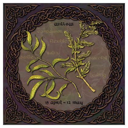 Tree Calendar Willow Coasters