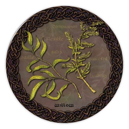 Celtic Willow China Plate
