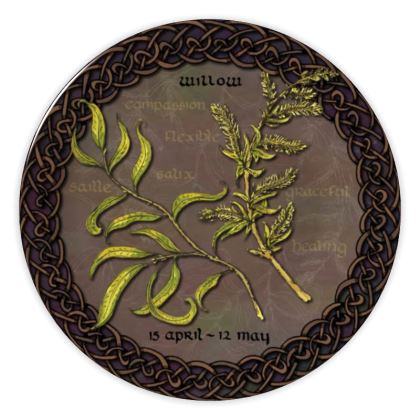 Tree Calendar Willow China Plate
