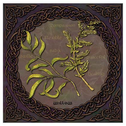 Celtic Willow Bone China Mug