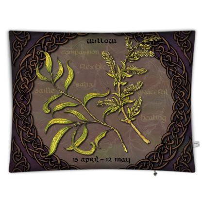 Tree Calendar Willow Floor Cushion