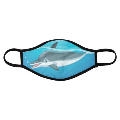 dolphins b face masks collection