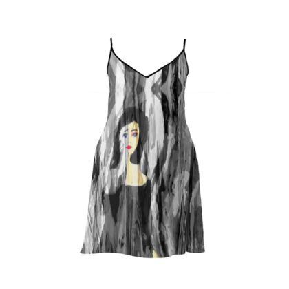 MISS TAYLOR SHORT SLIP DRESS