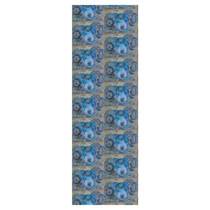 Blue Ram Deckchair