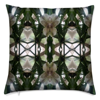 Alstroemeria stem Reflection Cushion