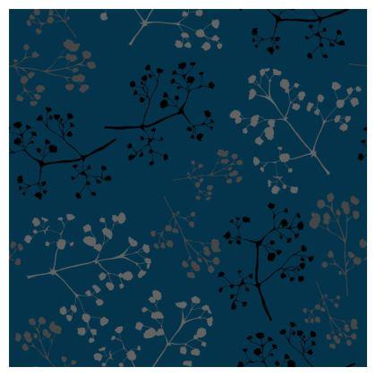 Gypsophila navy cushion
