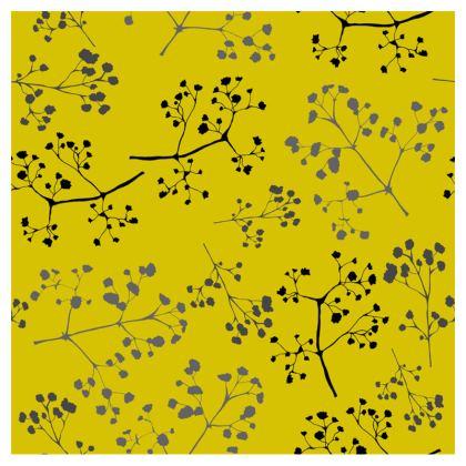 Gypsophila yellow mouse mat