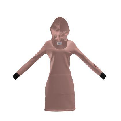 Coral Hoody Dress