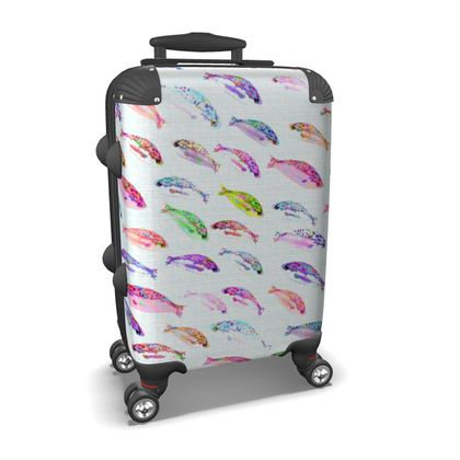 Tropical Fish Collection Suitcase