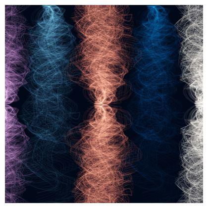 Light Threads (Coral) - Luxury Cushion