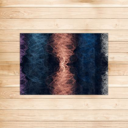 Light Threads Collection (Coral) - Luxury Rug