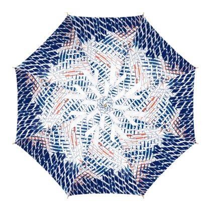 Threads Collection (Blue) - Luxury Umbrella