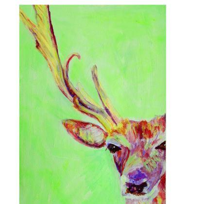 Green Stag Deckchair