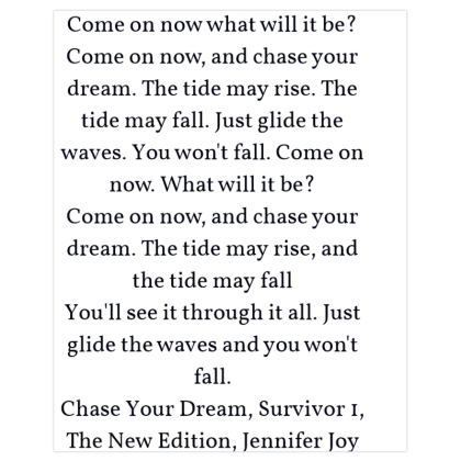 Chase Your Dream ©