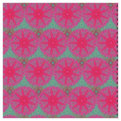 Mandala Trio (Teal) - Luxury Wallpaper