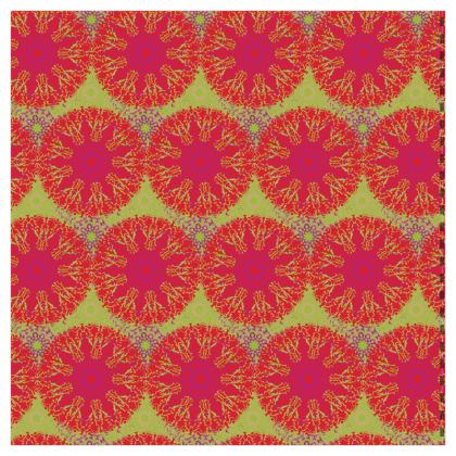 Mandala Trio (Lime) - Luxury Wallpaper