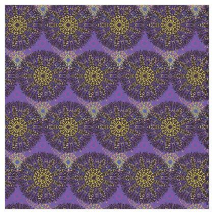 Mandala Trio (Blackcurrant) - Luxury Wallpaper