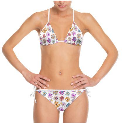 Rainbow Daisies Collection Bikini