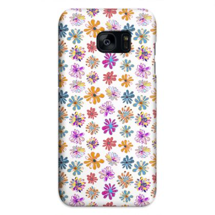 Rainbow Daisies Collection Samsung Cases