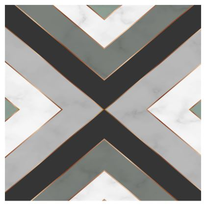 gray geometrical crossbody bag