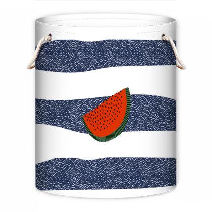 watermelon laundry bag